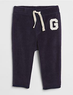 GAP Baby Logo Pull-On Pants in Fleece