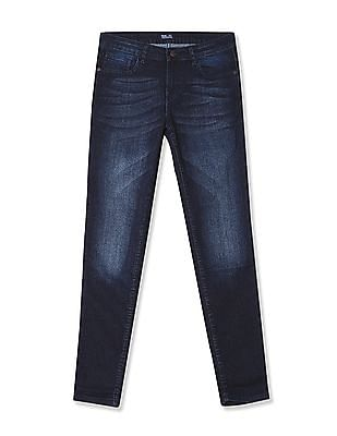 Newport Skinny Fit Whiskered Jeans