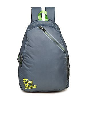 Flying Machine Neon Trim Padded Laptop Backpack