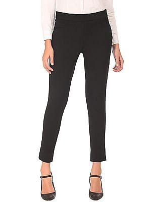 Arrow Woman Regular Fit Zipper Side Stretch Trousers