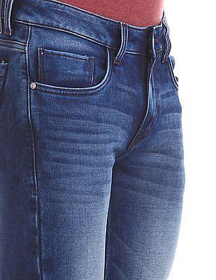 Ruf & Tuf Slim Fit Stone Wash Jeans