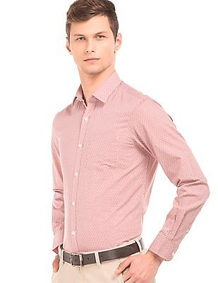 Arrow Slim Fit Patterned Shirt