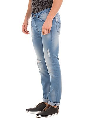 Flying Machine Medium Wash Skinny Fit Jeans