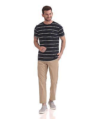 Gant Breton Stripe Short Sleeve T-Shirt