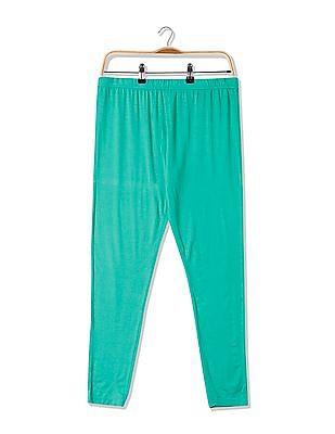 U.S. Polo Assn. Women Regular Fit Solid Stretch Leggings