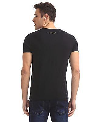 Ed Hardy V-Neck Printed T-Shirt