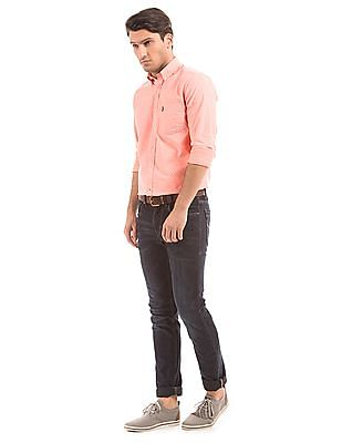 U.S. Polo Assn. Tailored Fit Floral Print Shirt