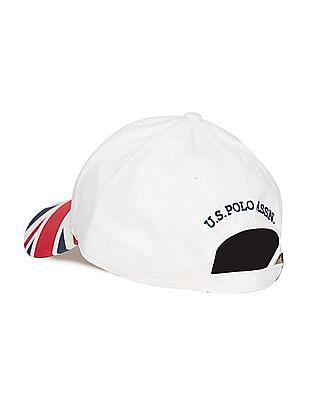 U.S. Polo Assn. Flag Print Cotton Cap