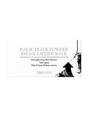 Caolion Magic Black Powder Facial Lifting Mask