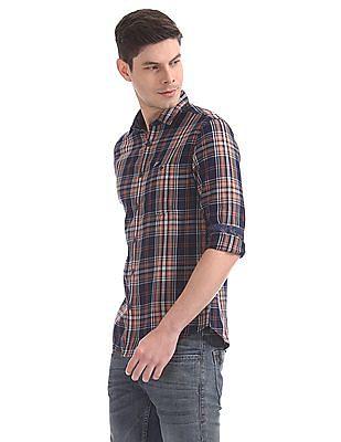 Ed Hardy Slim Fit Checked Shirt