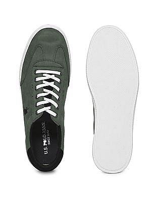 U.S. Polo Assn. Contrast Sole Low Top Sneaker