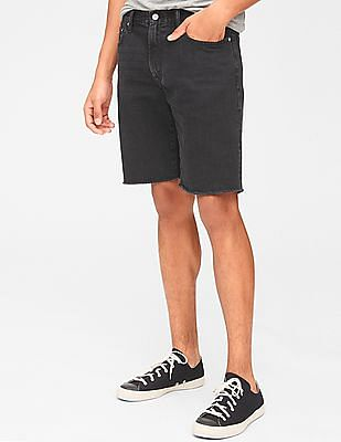 "GAP 10"" Denim Shorts In Slim Fit With Raw Hem"