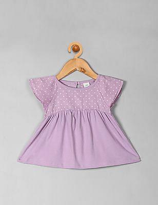 GAP Toddler Girl Flounce Top