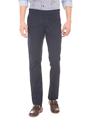 Arrow Sports Printed Cotton Trousers