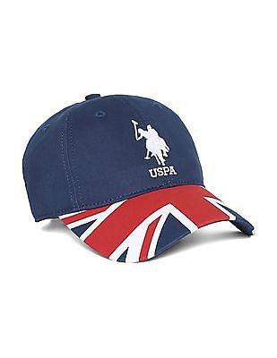 U.S. Polo Assn. Flag Logo Baseball Cap