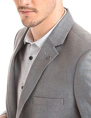 True Blue Slim Fit Single Breasted Suit