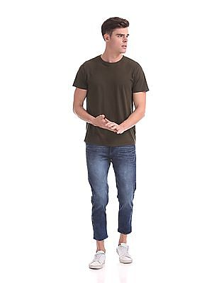 Flying Machine MJ Mankle Slim Fit Cropped Jeans