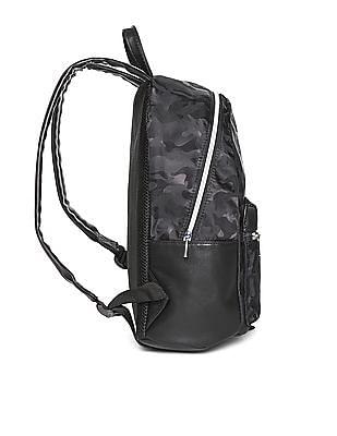 Aeropostale Camouflage Pleather Trim Backpack