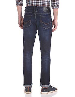U.S. Polo Assn. Denim Co. Delta Slim Tapered Fit Dark Wash Jeans