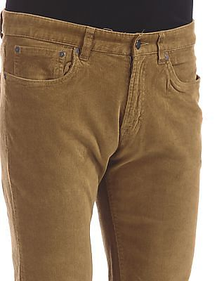 Aeropostale Skinny Fit Corduroy Trousers