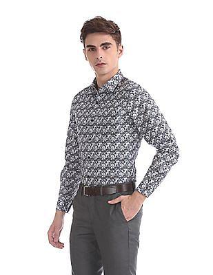 Excalibur Super Slim Fit Spread Collar Shirt
