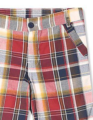 Cherokee Boys Cotton Check Shorts