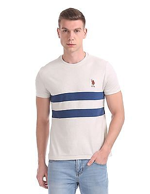 U.S. Polo Assn. Crew Neck Striped T-Shirt