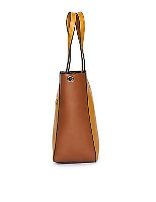 U.S. Polo Assn. Women Colour Block Sling Bag