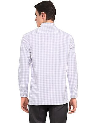 Excalibur Assorted Long Sleeve Semi Cutaway Collar Shirt - Pack Of 2