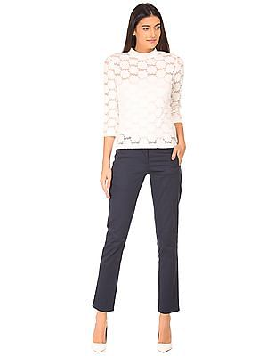 Arrow Woman Brushed Lace Top