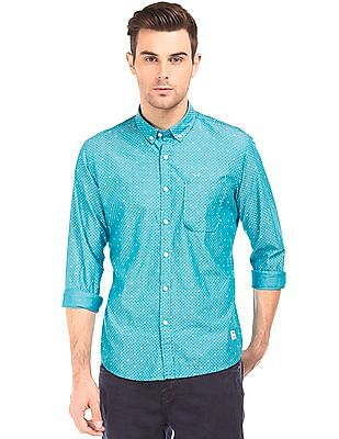 Flying Machine Slim Fit Button Down Shirt