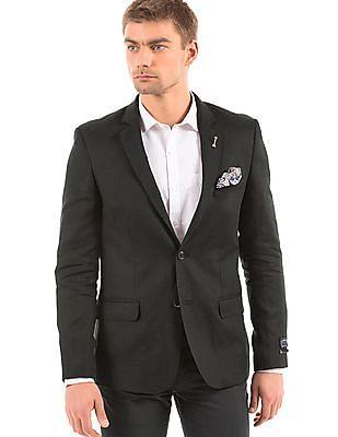 Arrow Regular Fit Linen Blazer