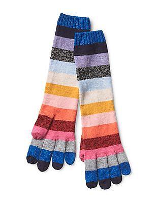 GAP Crazy stripe gloves