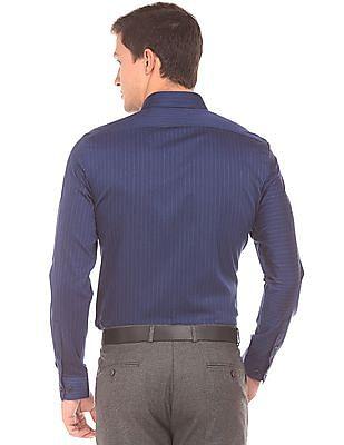 Arrow Newyork Striped Slim Fit Shirt