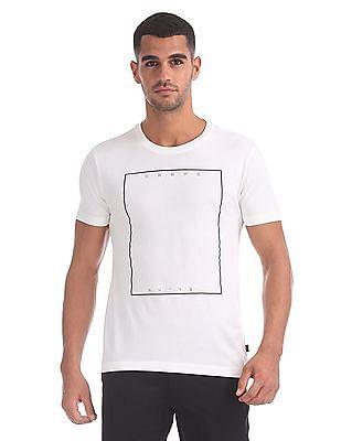Flying Machine Crew Neck Printed T-Shirt