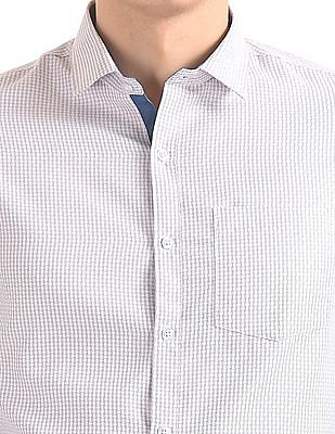 Excalibur Patterned Long Sleeve Shirt