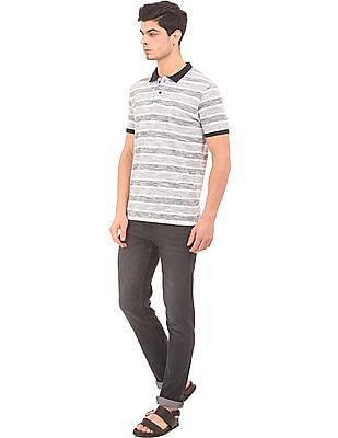 Roots by Ruggers Striped Jersey Polo Shirt