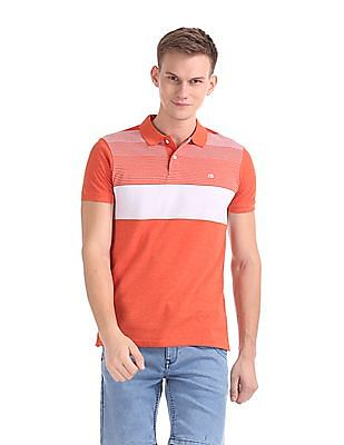 Roots by Ruggers Regular Fit Stripe Polo Shirt