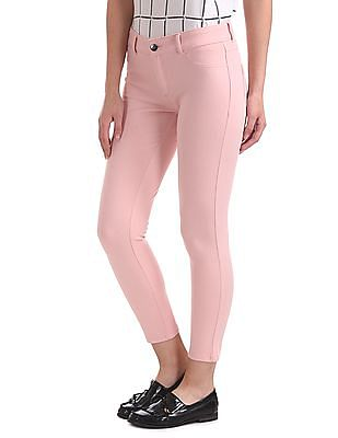 SUGR Mid Rise Solid Jeggings