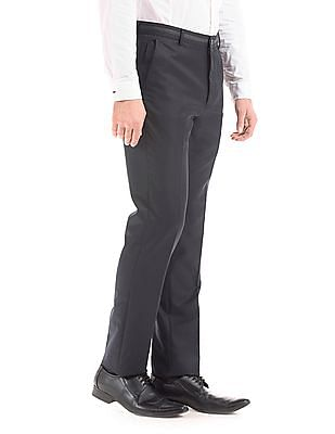 Arrow Newyork Mid Rise Tapered Fit Trousers