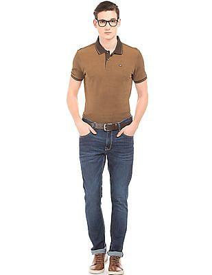 Arrow Sports Two Tone Pique Polo Shirt