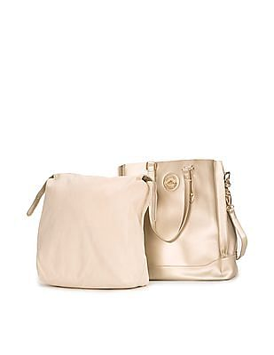 Elle Panelled Tote Bag