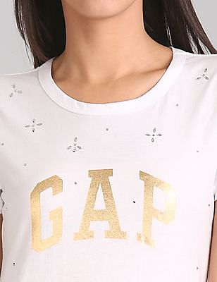 GAP Embellished Logo Tee