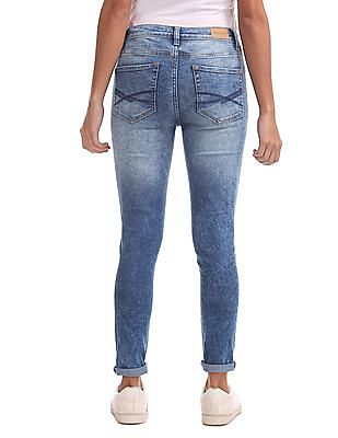 Aeropostale Jegging Fit Mid Rise Jeans