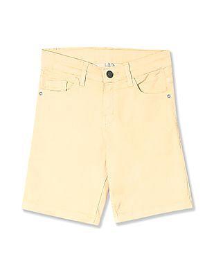 Cherokee Boys Slim Fit Twill Shorts