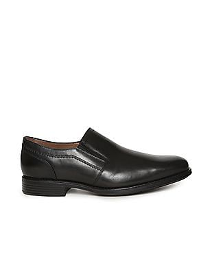Johnston & Murphy Solid Leather Slip On Shoes