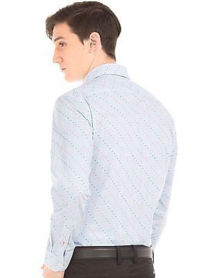 Arrow Sports Printed Slim Fit Shirt