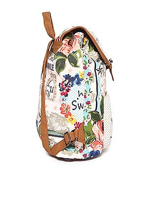 SUGR Printed Cotton Backpack