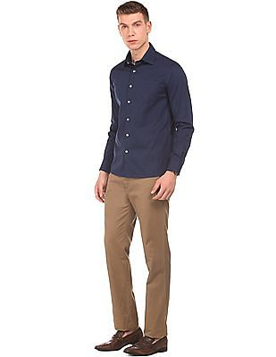 Arrow Jacquard Slim Fit Shirt
