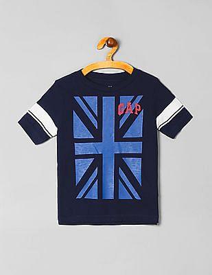GAP Boys Striped Short Sleeve T-Shirt